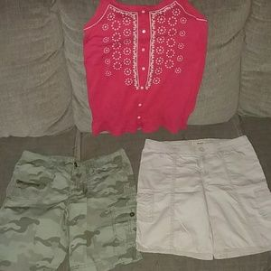 3 girls sz 14-16 items Justice & Mudd brands